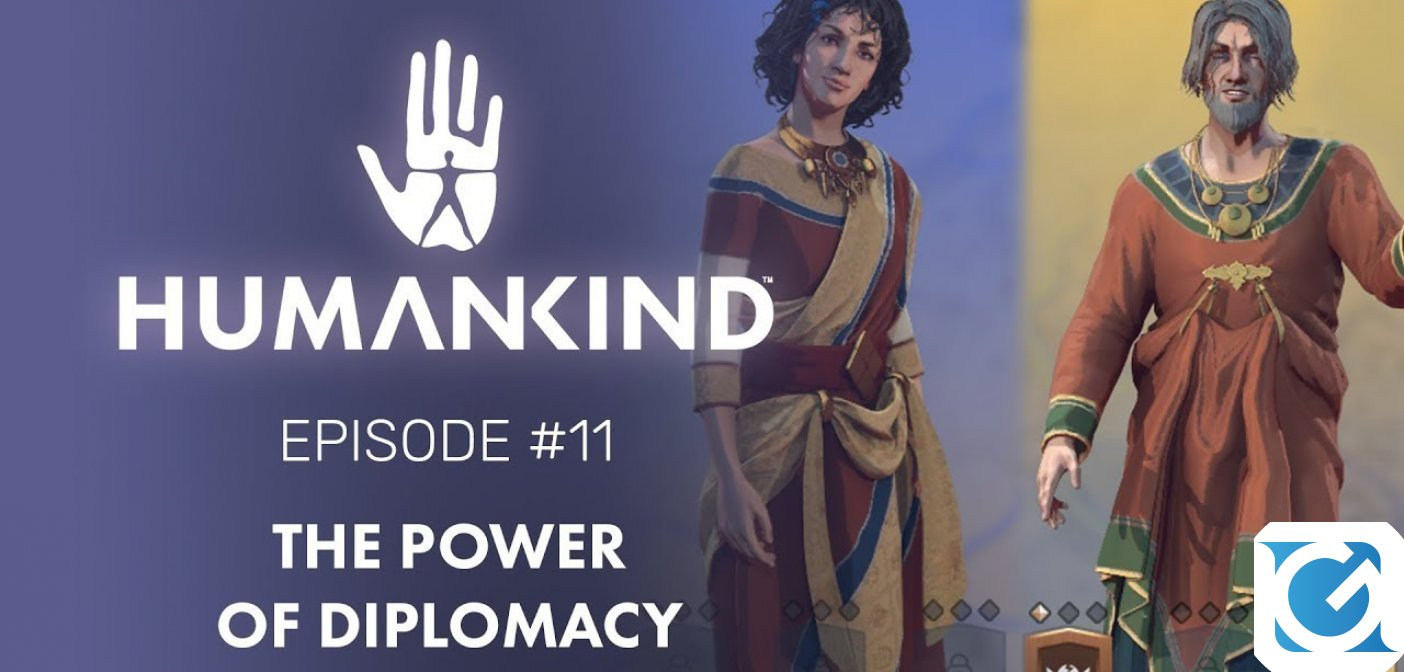 Ecco il Feature Focus #11 di Humankind: The Power of Diplomacy
