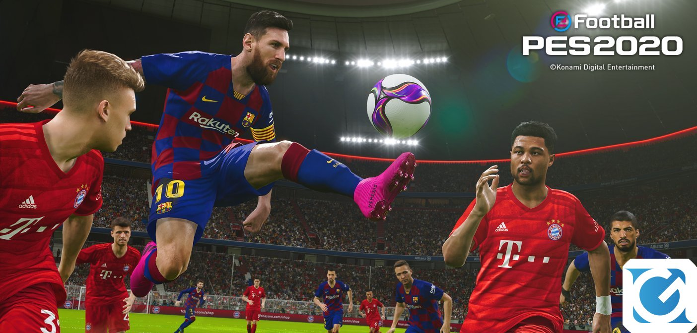 eFootball PES 2020 è disponibile