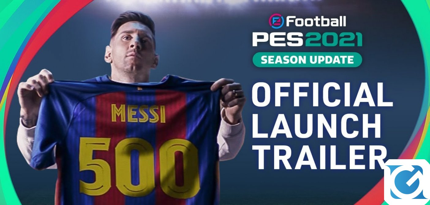 eFootball PES 2021 Season Update è disponibile da oggi