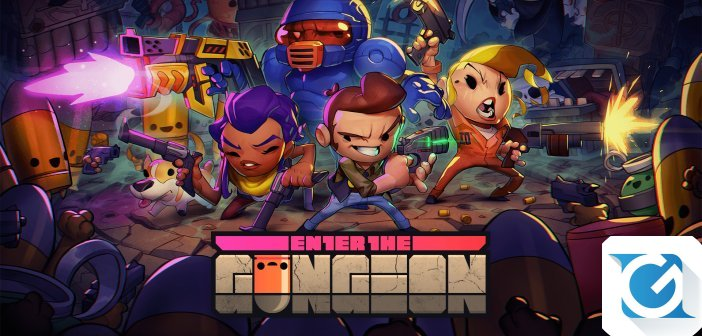 Enter the Gungeon e' disponibile su XBOX One e Windows 10
