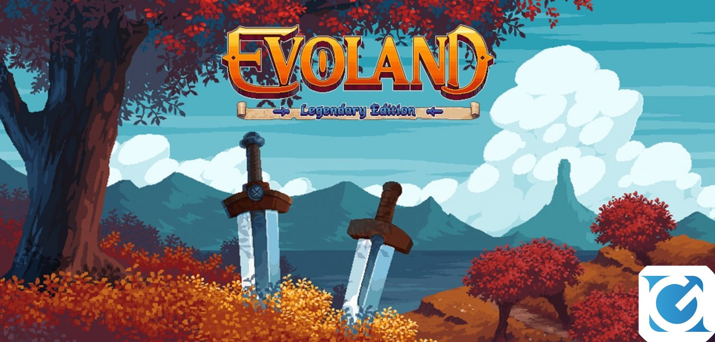 Evoland: Legendary Edition arriverà in versione fisica per PS4