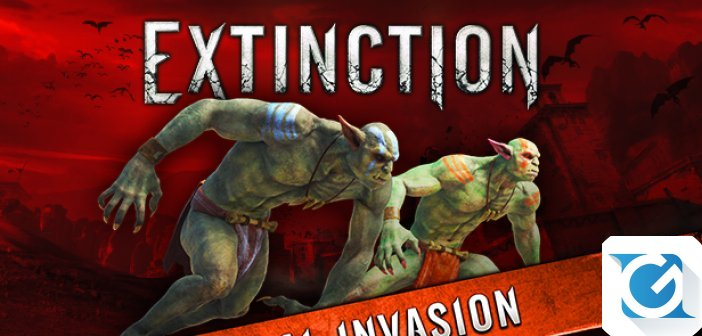 Disponibile il primo DLC per Extinction: Jackal Invasion