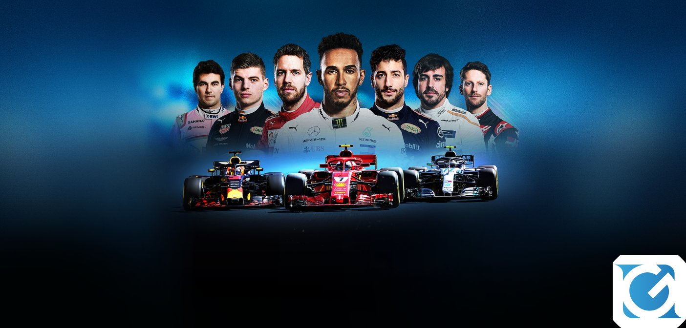 F1 2018 e' disponibile per XBOX One, Playstation 4 e PC