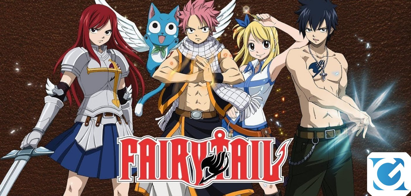 Fairy Tail ha una data d'uscita: arriverà in estate