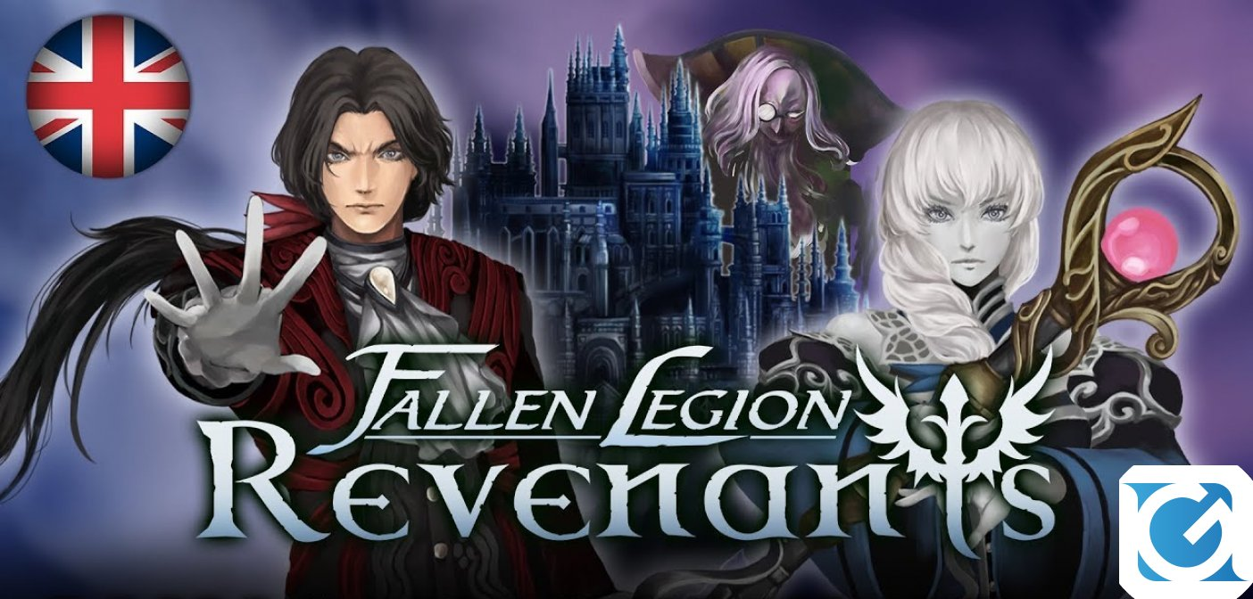 Fallen Legion Revenants annunciato per PlayStation 4 e Nintendo Switch