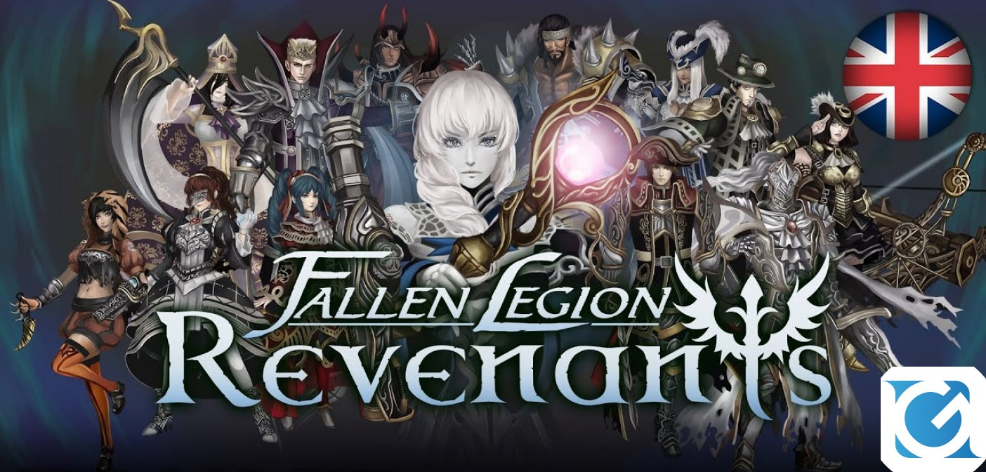 Fallen Legion Revenants arriva a febbraio 2021 su Switch e PS 4