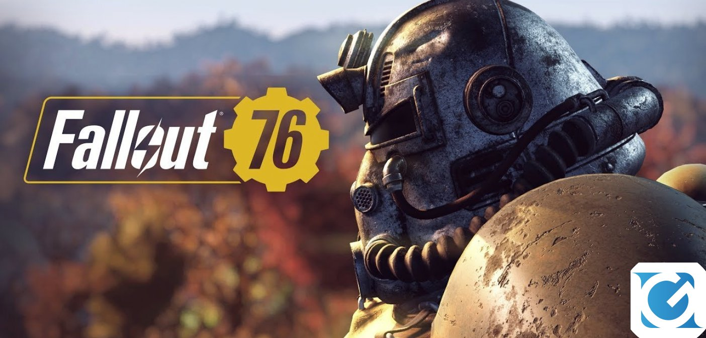 E' ora di emergere: Fallout76 è disponibile
