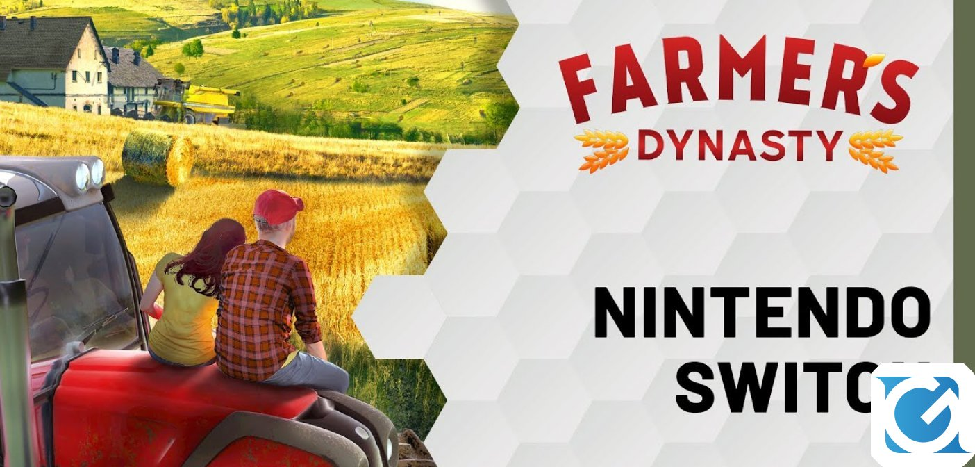 Farmer's Dynasty è disponibile per Nintendo Switch