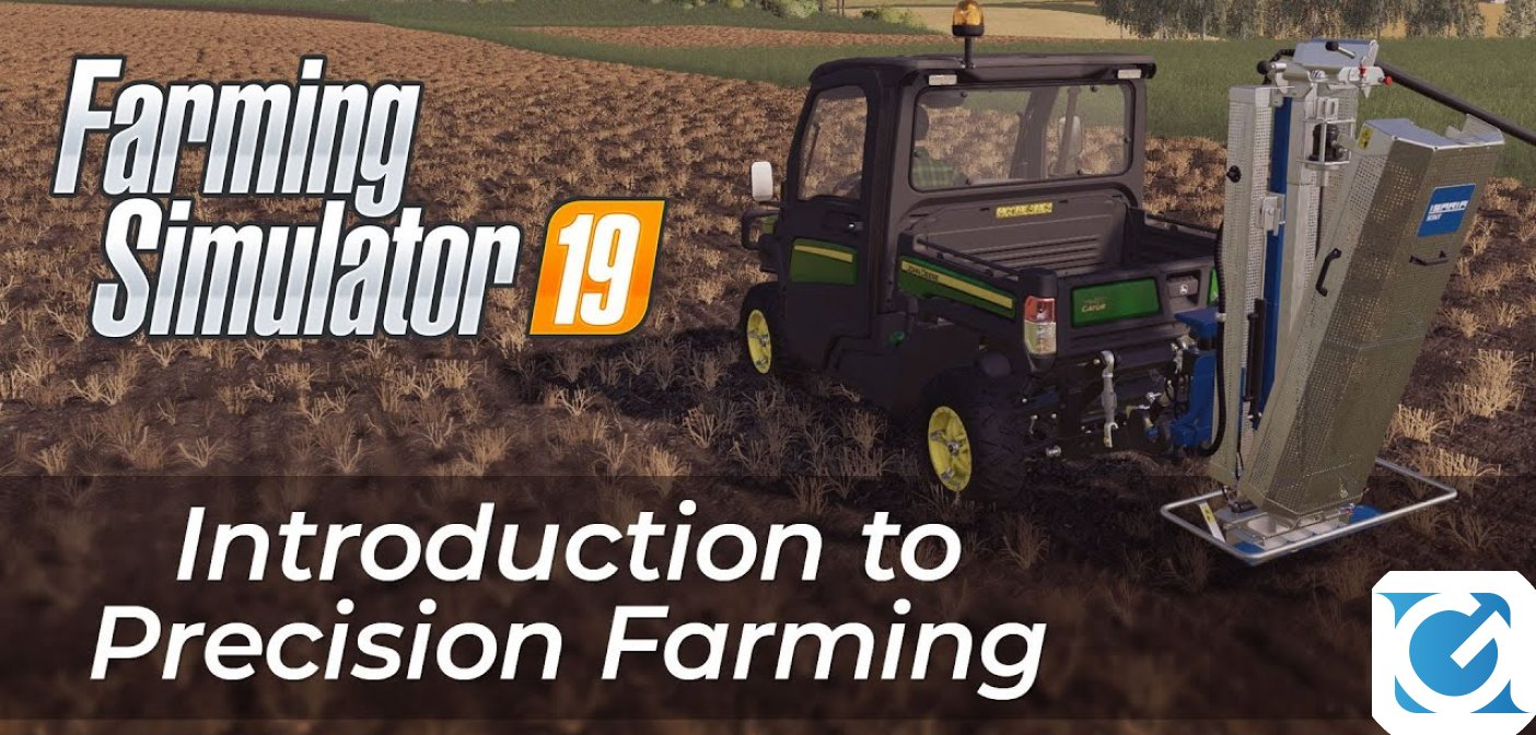 Farming Simulator 19: il nuovo DLC gratuito Precision Farming è disponibile