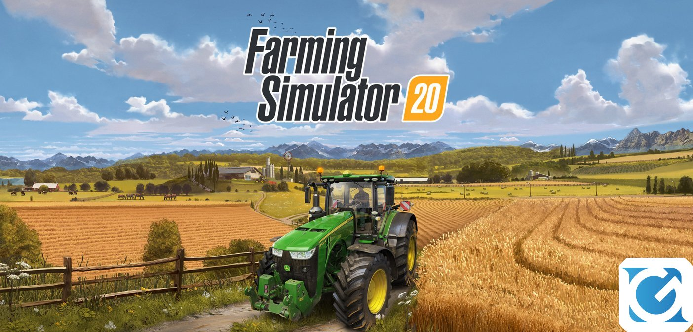 Farming Simulator 20 arriva a dicembre su Switch