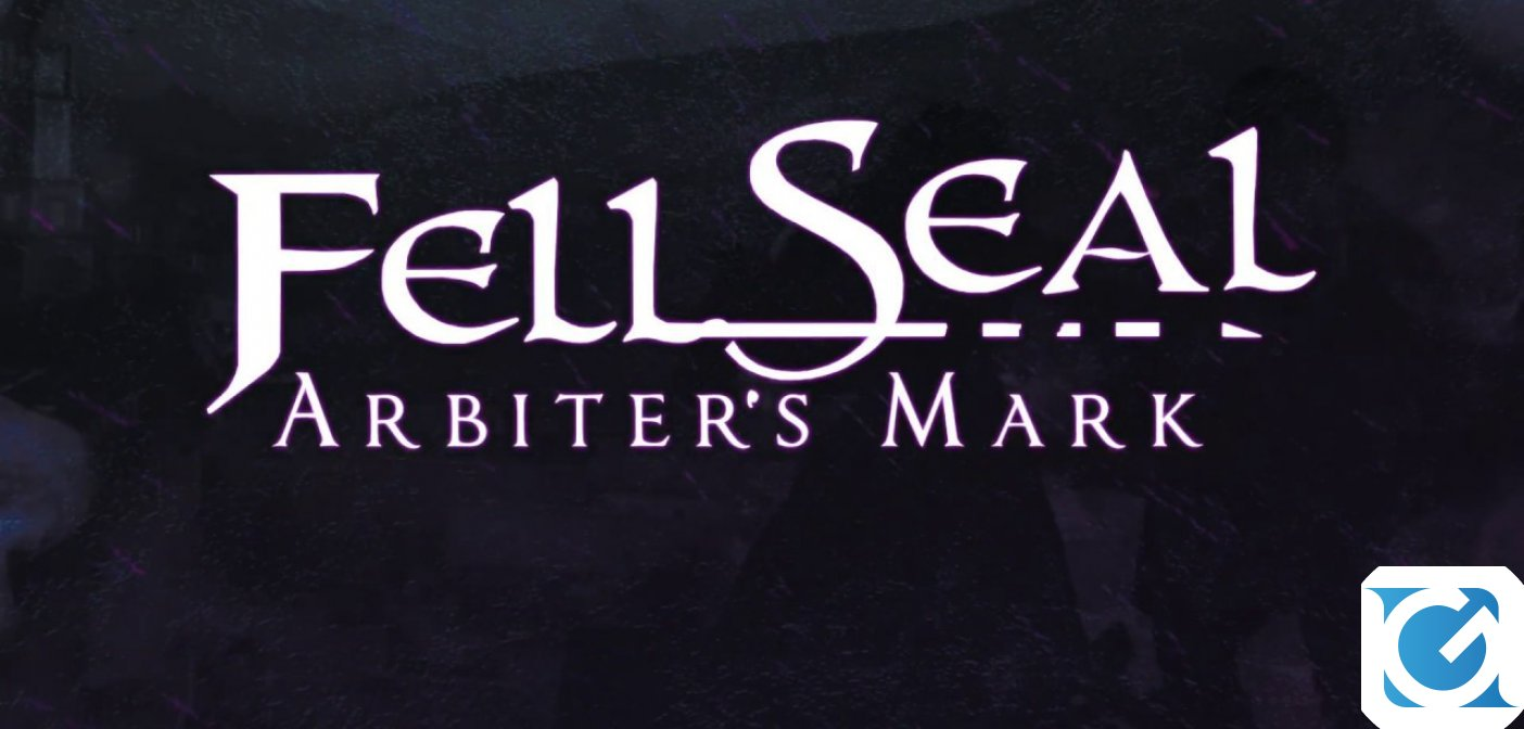 Fell Seal: Arbiter's Mark è disponibile su Nintendo Switch