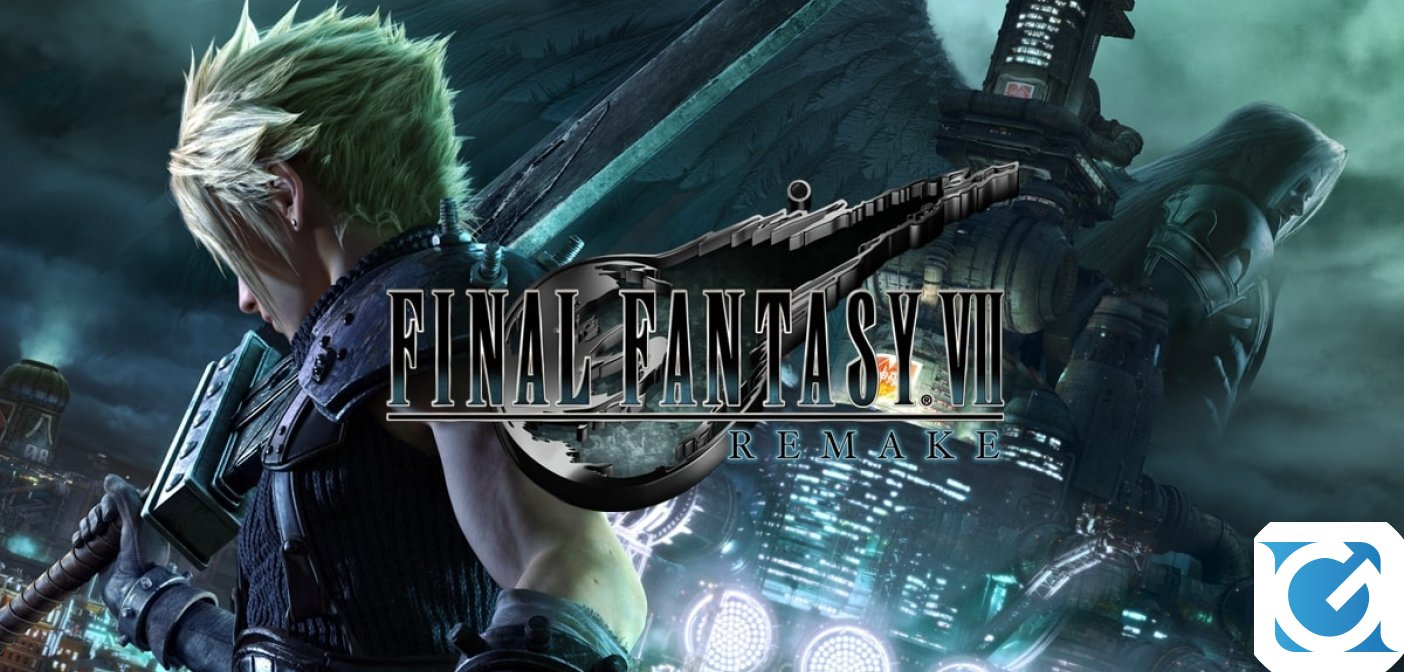 FINAL FANTASY VII REMAKE sarà presente al Lucca Comics & Games 2019