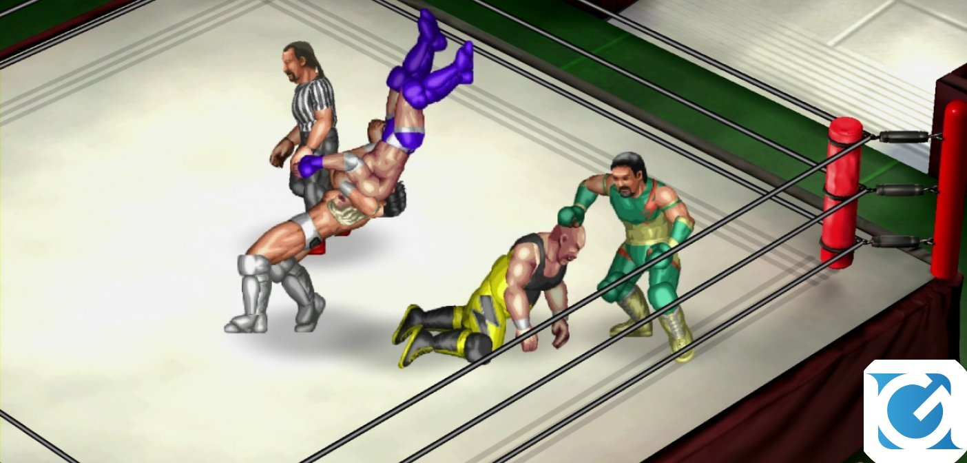 Fire Pro Wrestling World ora disponibile su PlayStation 4