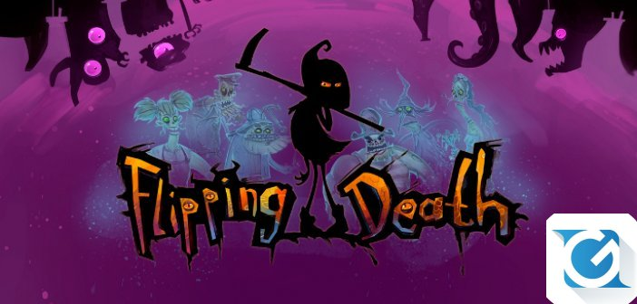 Flipping Death arriva su XBOX One, Playstation 4, Nintendo Switch e PC ad agosto!