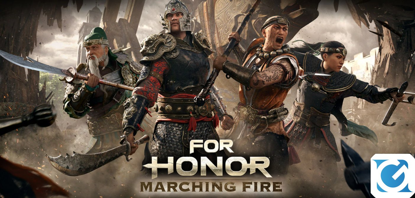L'Open Test di For Honor Marching Fire sara' disponibile dal 6 al 10 settembre