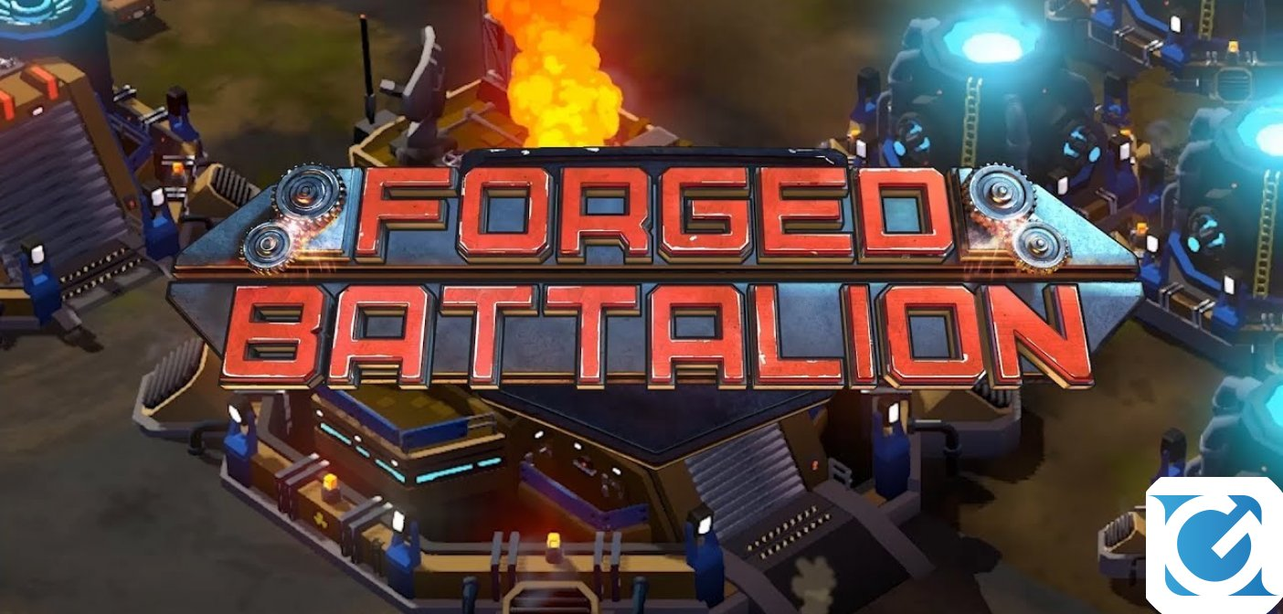 Forged Battalion e' finalmente disponibile