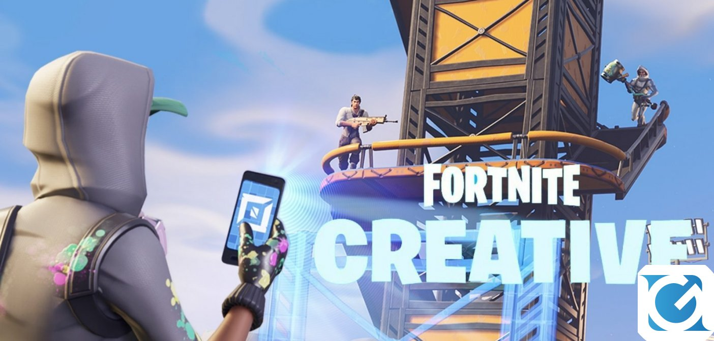 Epic Games ha annunciato Fortnite Creative