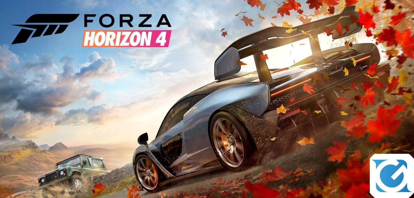 Forza Horizon 4 e Ori and the Will of the Wisps protagonisti della Milan Games Week 2018