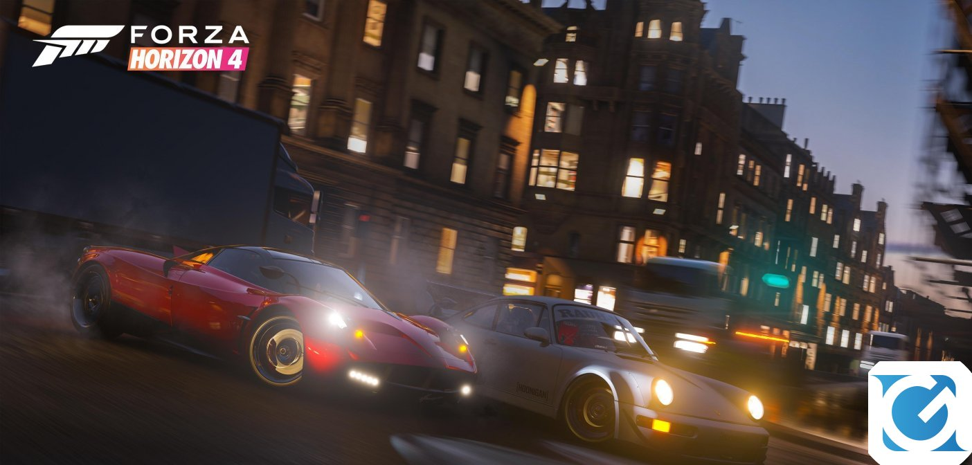 Forza Horizon 4 e' disponibile per XBOX One e PC (anche in Game Pass)