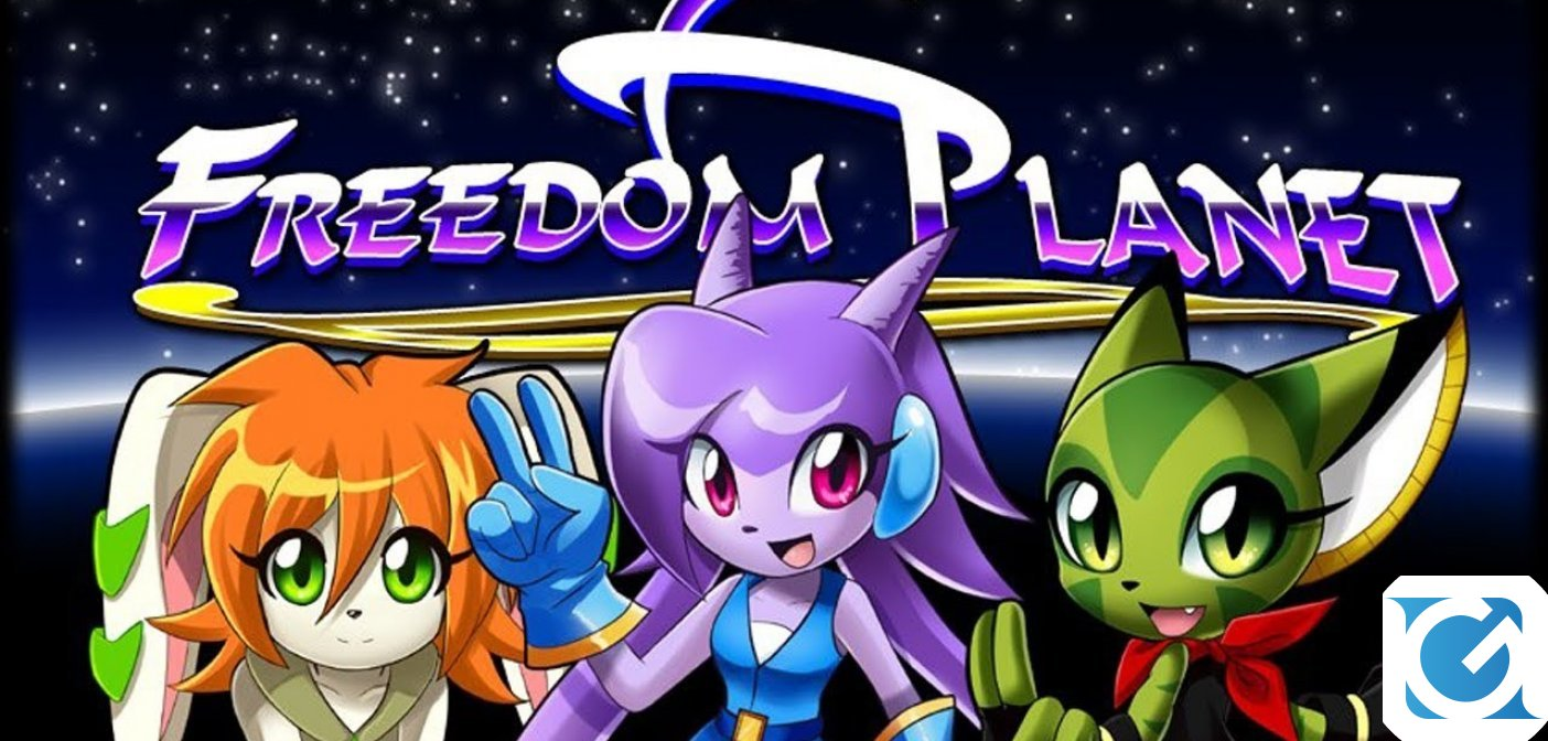 Freedom Planet e' disponibile su Switch