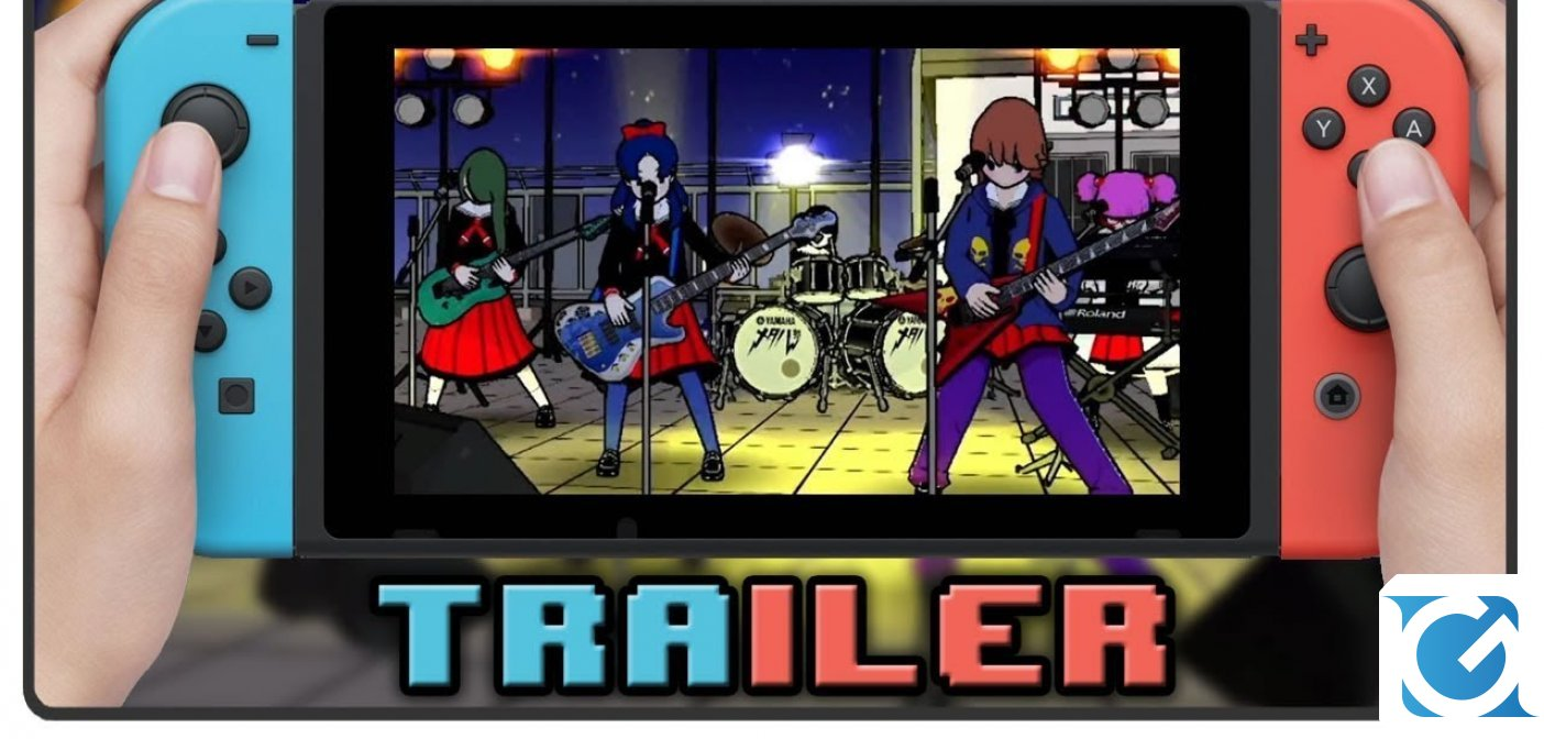 Gal Metal arriva su Switch il 2 novembre