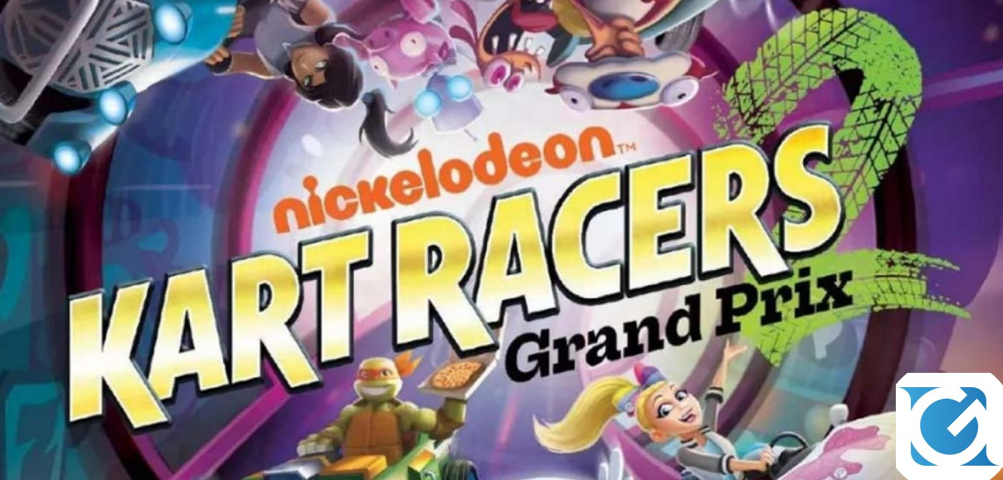 Gamemill Entertainment annuncia Nickelodeon Kart Racers 2: Grand Prix!