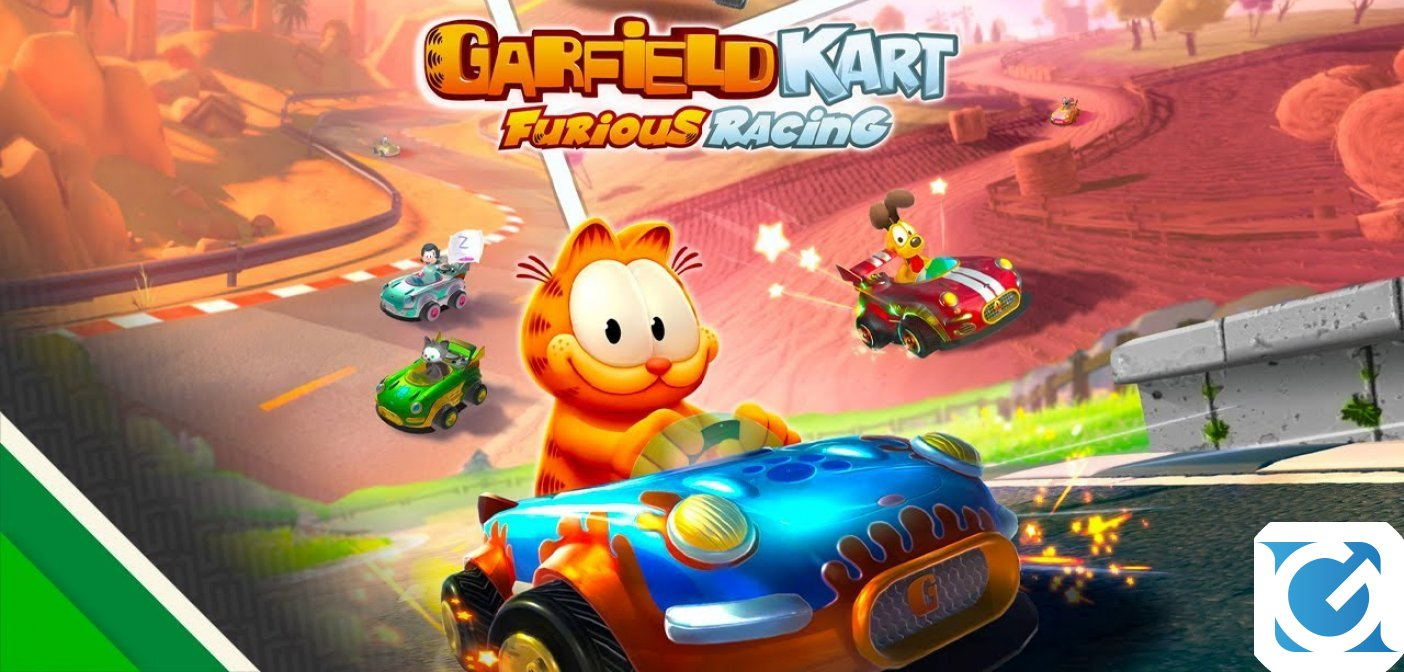 Garfield Kart Furious Racing è disponibile per PC e console