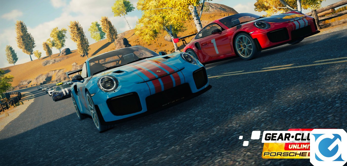 Gear.Club Unlimited 2 Porsche Edition sarà rilasciato su Switch a novembre