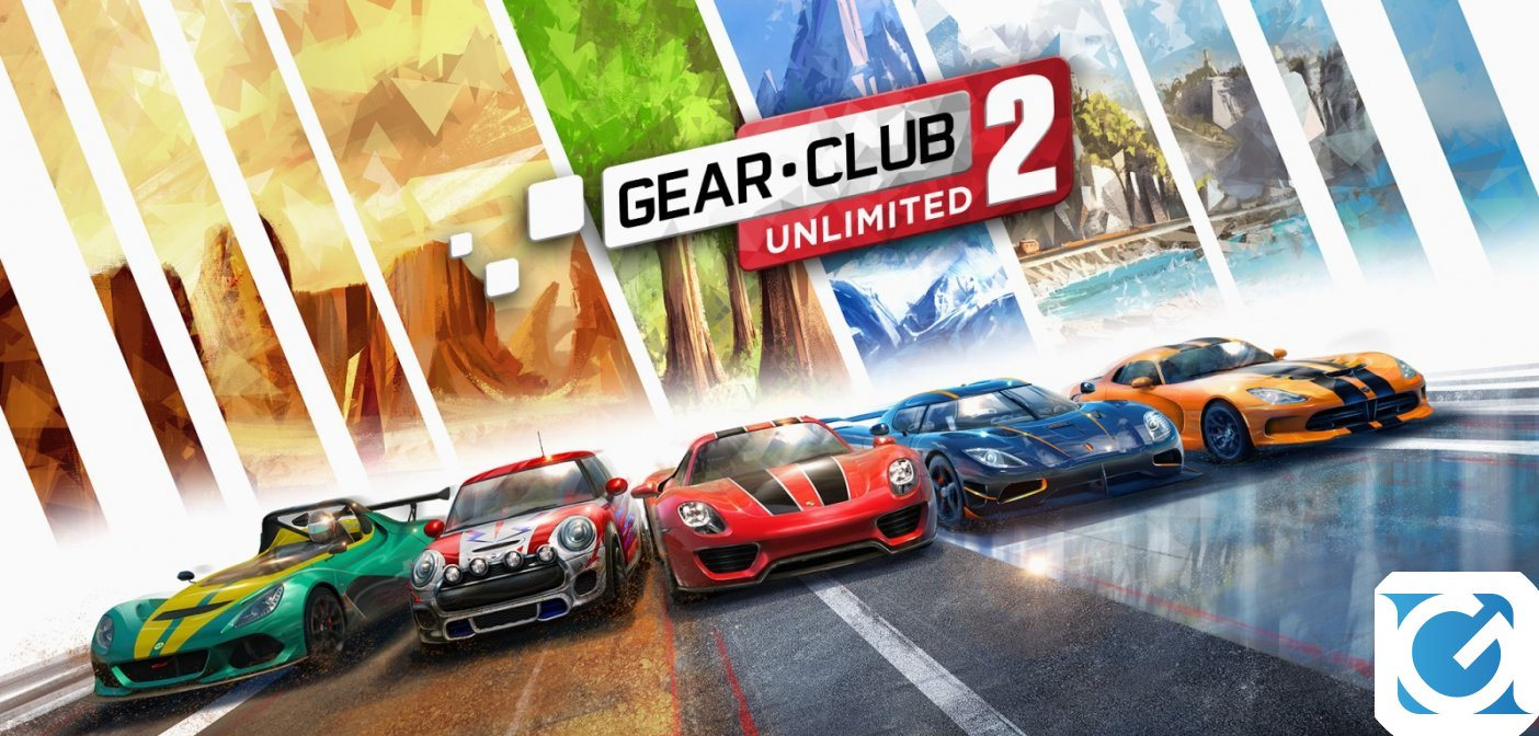 Gear.Club Unlimited 2 è disponibile per Nintendo Switch, ecco il trailer di lancio