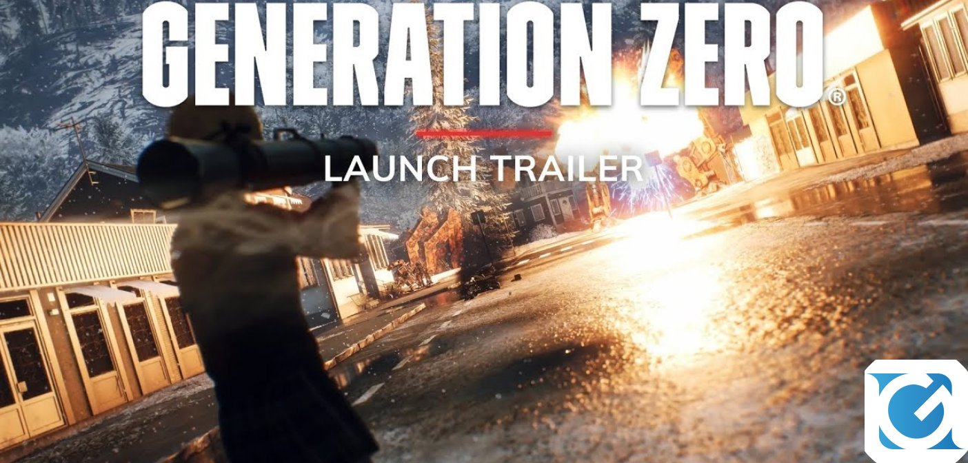 Generation Zero è disponibile per XBOX One, Playstation 4 e PC