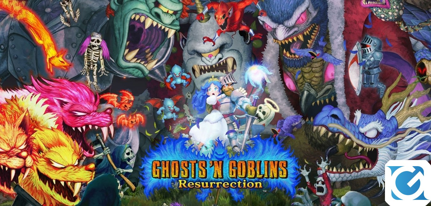 Recensione Ghosts 'n Goblins Resurrection per Nintendo Switch - Un grande ritorno!