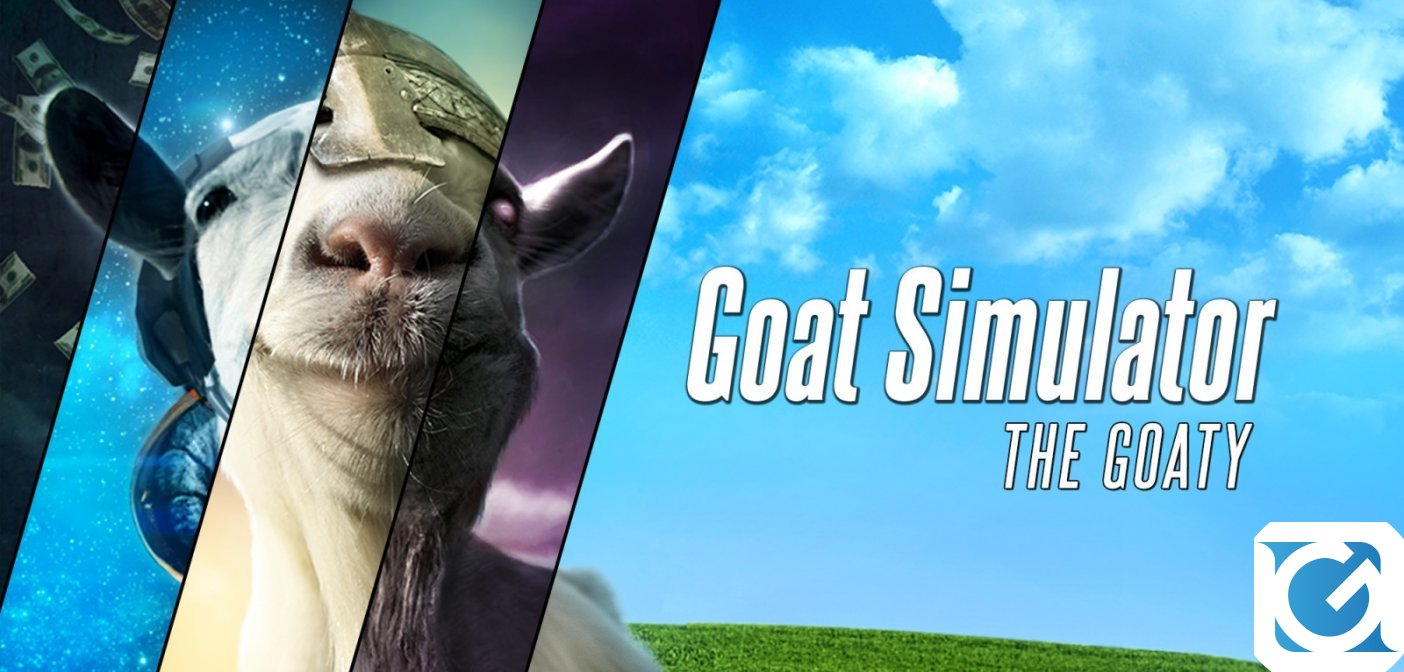 Goat Simulator: The GOATY disponibile in edizione fisica per Nintendo Switch