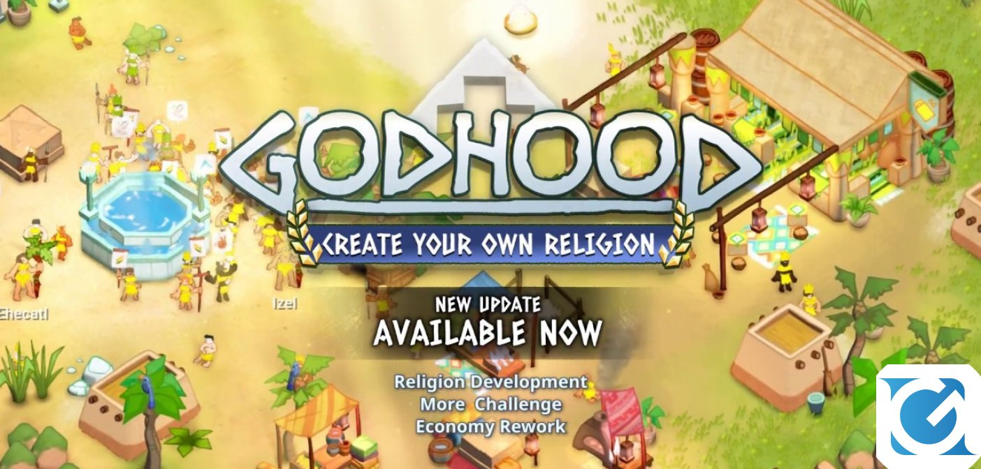 Godhood si aggiorna su Steam con Create Your Own Religion