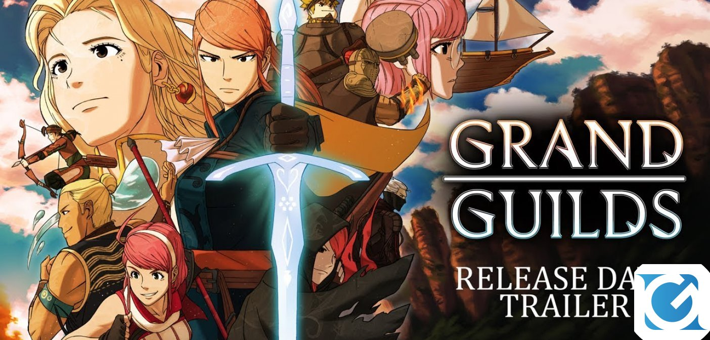 Grand Guilds è disponibile da oggi per Switch e PC