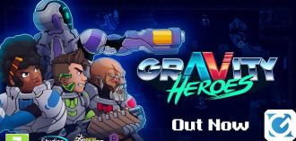 Gravity Heroes è disponibile su console