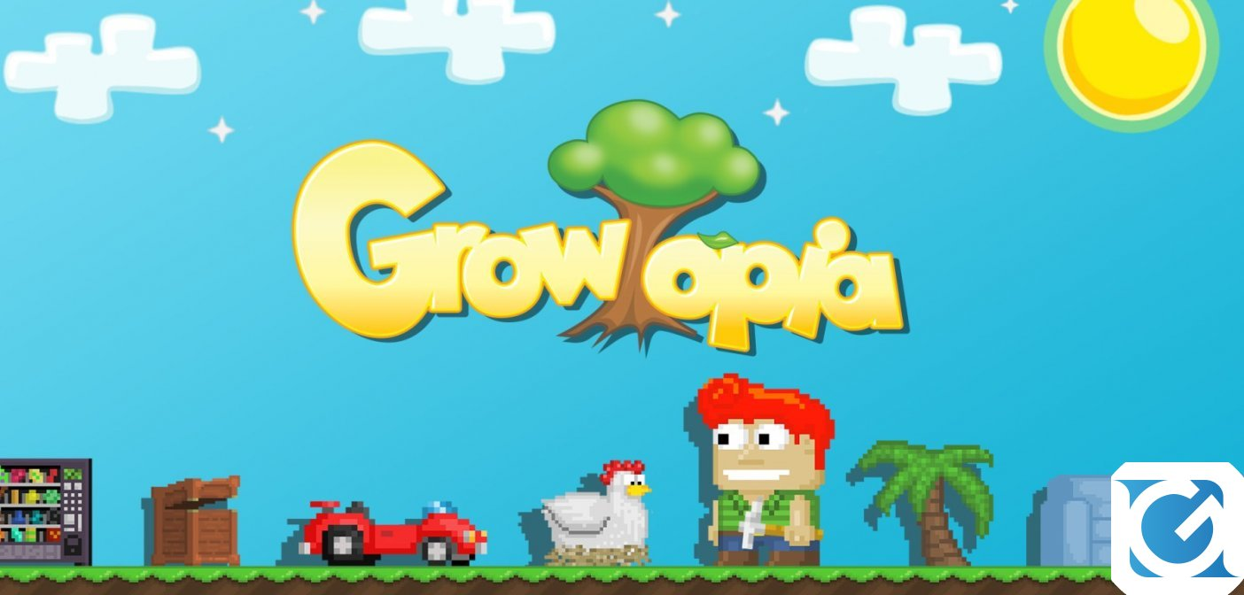 Growtopia è disponibile gratuitamente su console