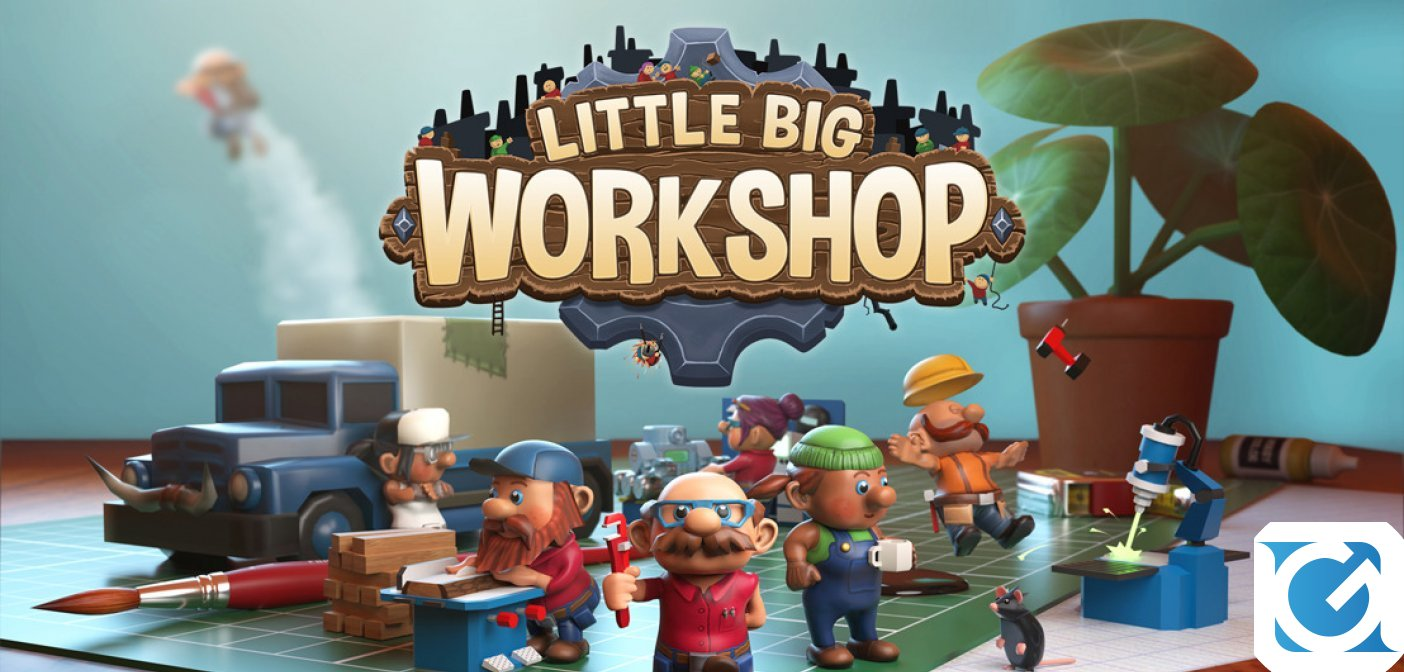HandyGames ha annunciato Little Big Workshop