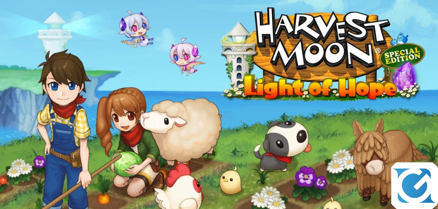 Harvest Moon: Light of Hope Special Edition COMPLETE arriva a ottobre su Switch e PS4