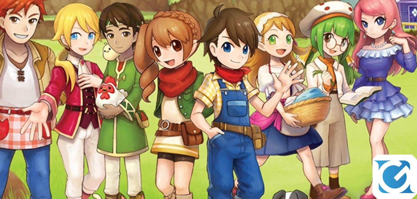 Harvest Moon: Mad Dash arriva in Europa grazie a Rising Star Games e Koch Media