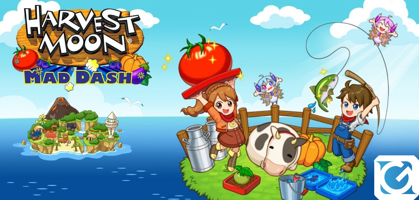 Harvest Moon: Mad Dash è disponibile in formato fisico su Switch