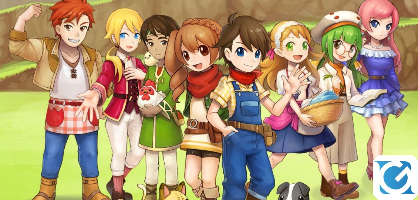 Harvest Moon: Mad Dash arriva in Europa grazie a Natsume e Rising Star Games!