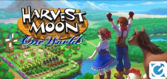 Harvest Moon: One World è disponibile su Switch