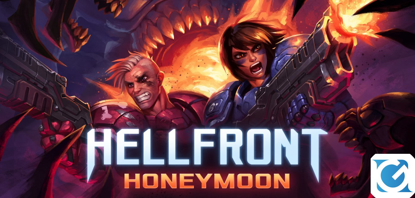 HELLFRONT: HONEYMOON si presenta con un nuovo trailer di lancio