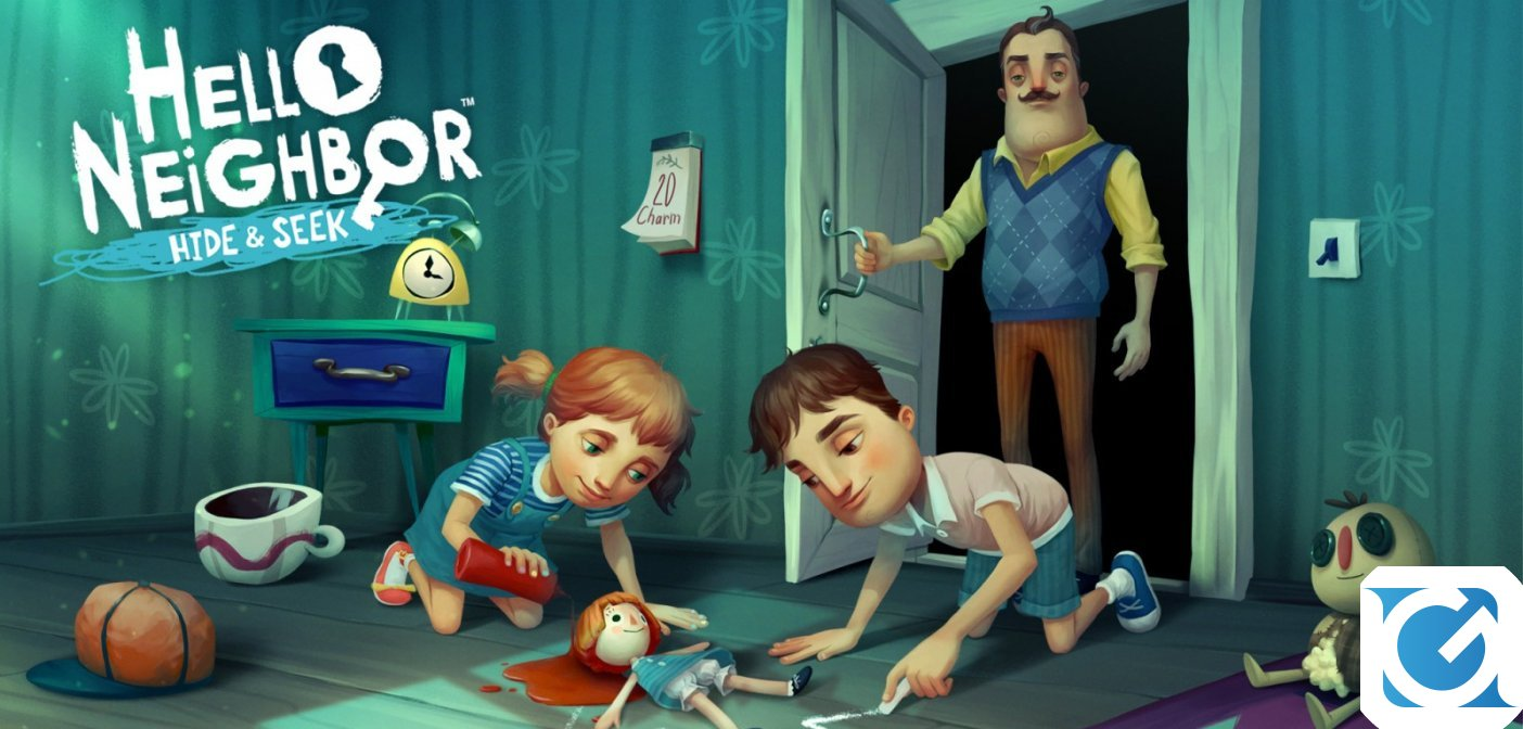 Hello Neighbor: Hide and Seek  arriva venerdì su iOs e console