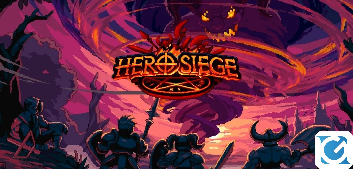 Hero Siege è disponibile su PC, Android e iOS e presto arriverà su Switch