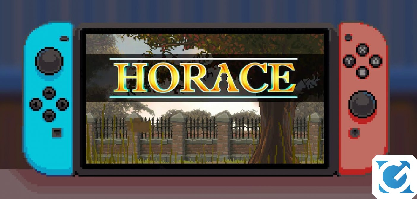 Horace arriva anche su Nintendo Switch!