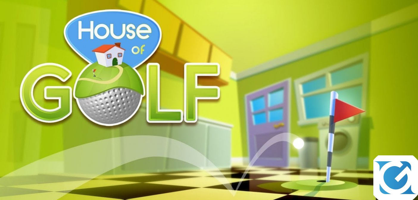 House Of Golf è disponibile da oggi in esclusiva su Switch
