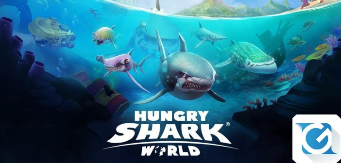 Hungry Shark World disponibile per XBOX One, Playstation 4 e Nintendo Switch