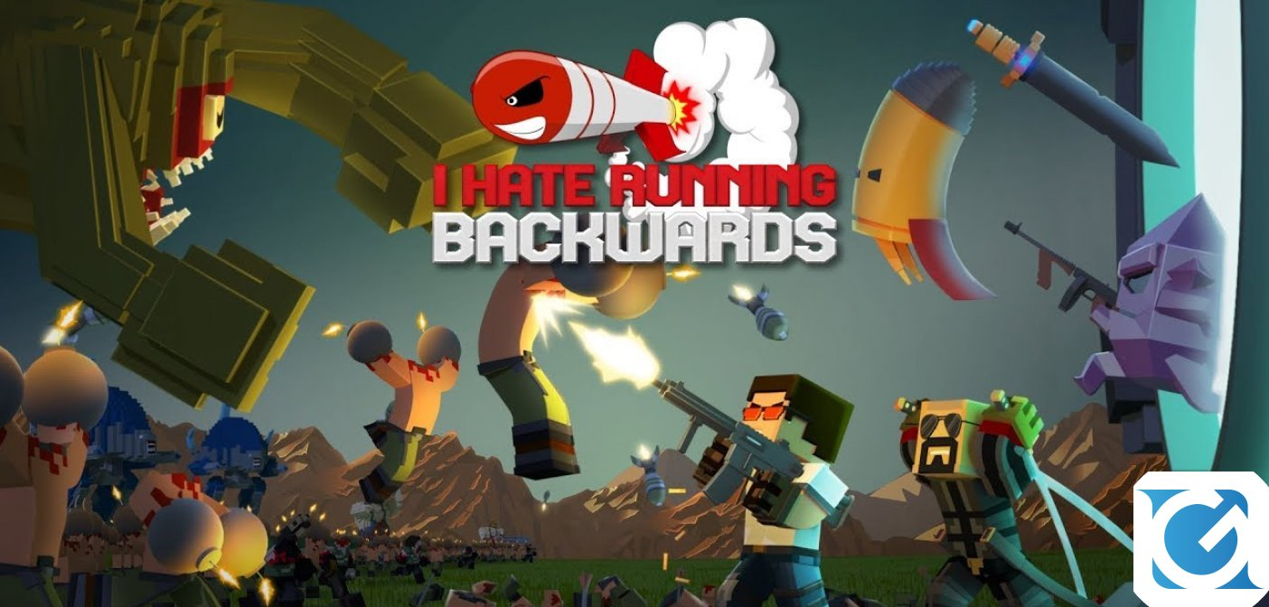 I Hate Running Backwards è disponibile su Switch