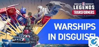 I Transformers arrivano nel mondo di World of Warships e World of Warships: Legends